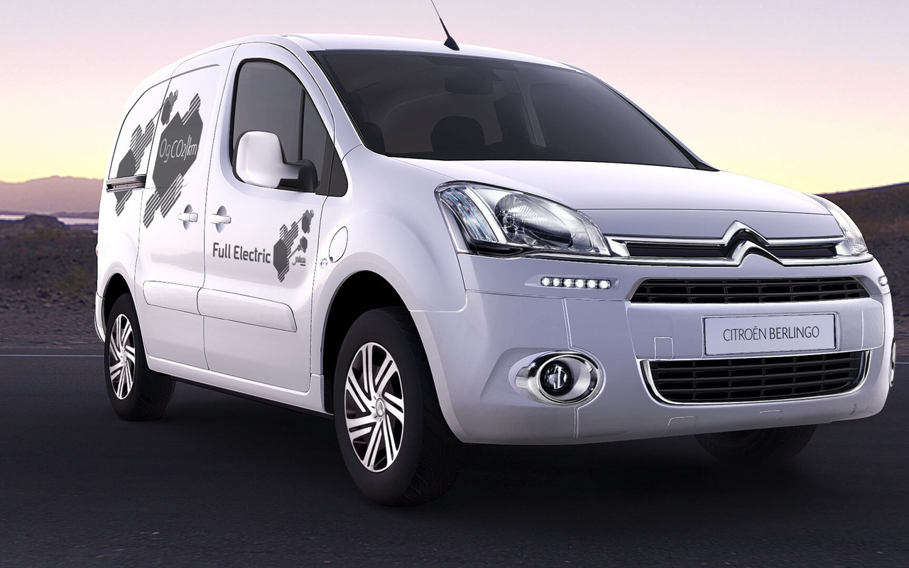 Электромобиль Citroen Berlingo Electric