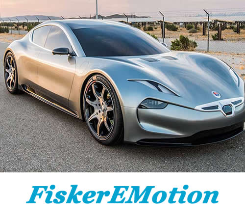 Электрокар Fisker EMotion