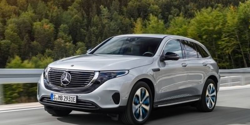 Электрокар Mercedes-Benz EQC
